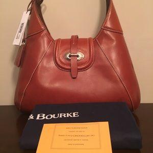 Dooney & Bourke Florentine Toscana  Leather Hobo